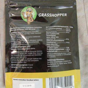 Savonia Grasshopper makeasti maustetut kotisirkat